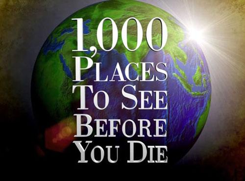 ۱۰۰۰مکان دیدنی دنیا