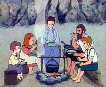 کارتون خاطره انگیز خانواده دکتر ارنست