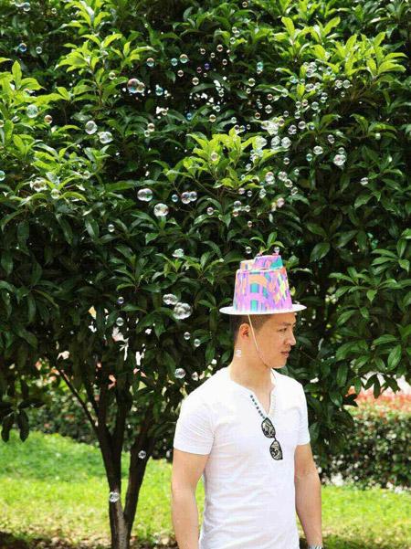 کلاه حباب ساز (2)
